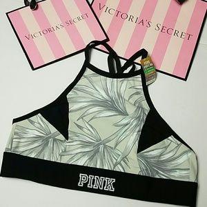 Pink Victoria's Secret ultimate sports bra NWT
